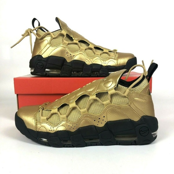 Nike Air More Money Gold Money NWT